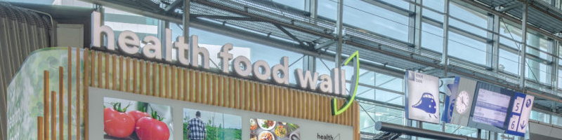 Health food wall