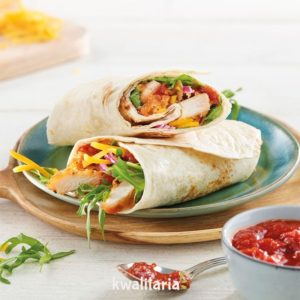 Salsa Chicken wrap