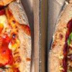 """Drie """"vegetarische kip"""" pizza's bij Domino's"""