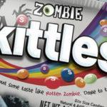 Nieuwe zombie Skittles zijn expres heel smerig