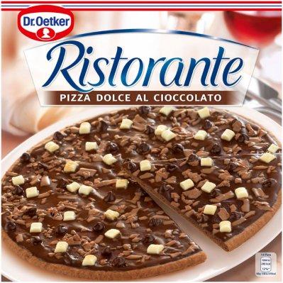 Chocoladepizza Dr.oetker