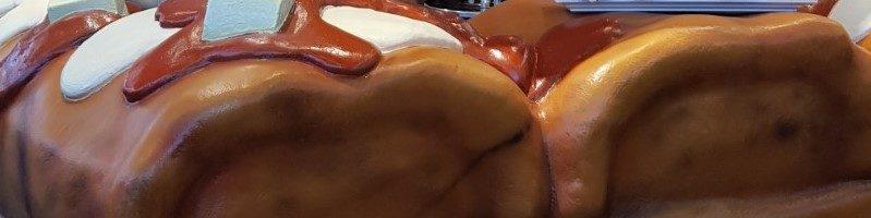 Frikandel Burger