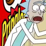 Rick en Morty zitten vast in Pringles reclame