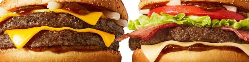 McDonald's Samurai burger
