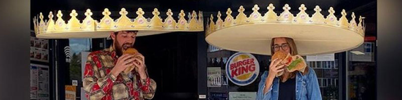 Burger King Sociale Distance Kronen