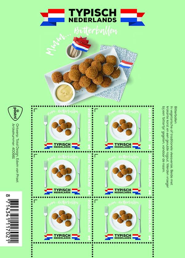 Bitterbal postzegel