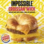 Burger King Impossible Croissan'wich