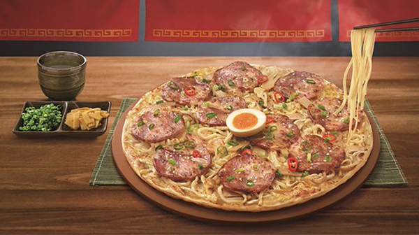 Pizza Hut Ramen Pizza