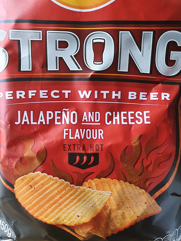 Lays Strong Jalapeno and cheese