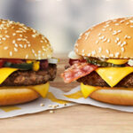 Quarter Pounder met bacon en dubbele Quarter Pounder bij McDonald's
