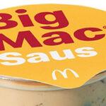 We kunnen gaan dippen in Big Mac saus
