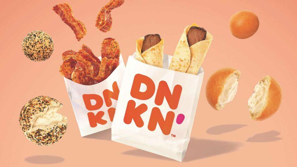 Dunkin breakfast
