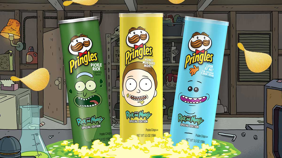 Rick And Mort Pringles 3smaken