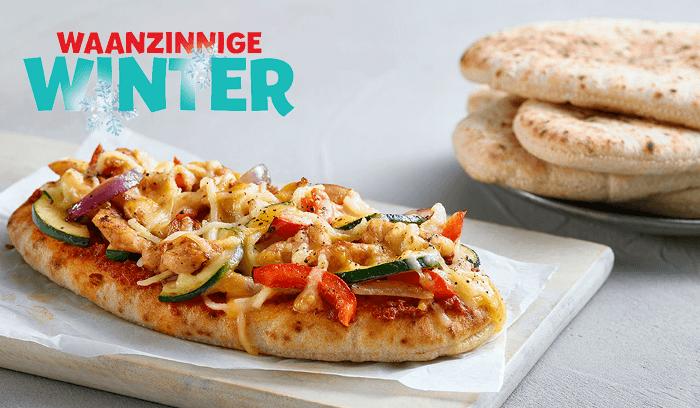 Kwalitaria winter Pita pizza