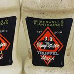 Snacknieuws test truffel, pir piri en aioli mayo van The Mayo Sisters