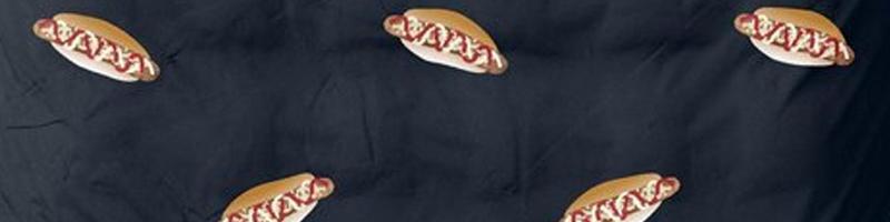 Broodje frikandel dekbedovertrek