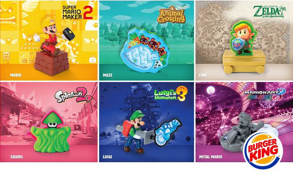 Burger King België Nintendo