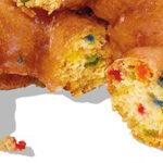 Dunkfetti donut om het jaar (hopelijk) vrolijk te beginnen