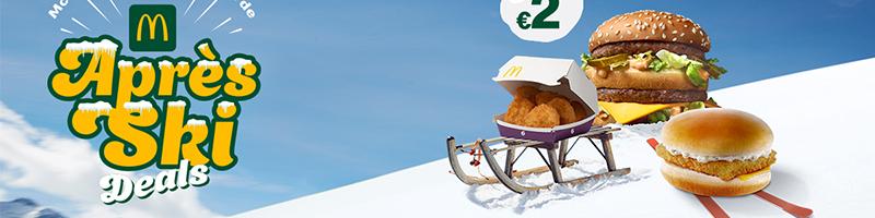 McDonald's België Apres Ski