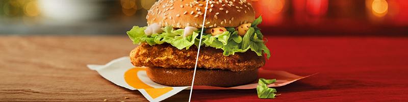 McDonald's McChicken Spicy en Classic