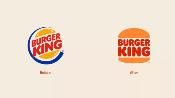 Rebranding Burger King logo