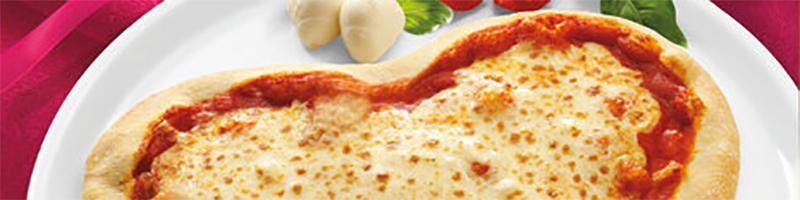 LIDL Pizza hartvormig