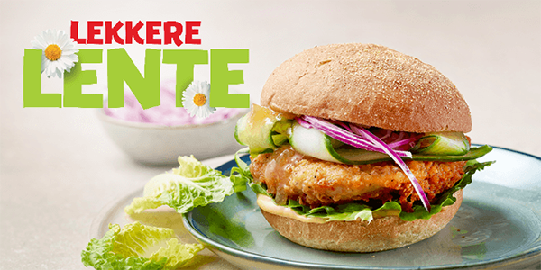 Kwalitaria Lente Sweet Chicken Burger