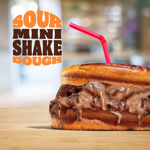 Burger King Sour Mini Shake Dough