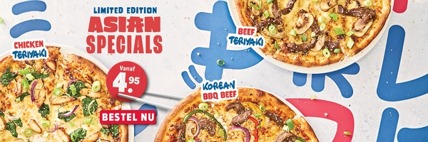 Domino's Asian Specials