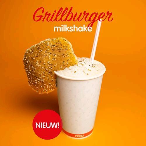 FEBO Grill Burger Milkshake