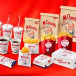 McDonald's Japan Mr. Speedee verpakking