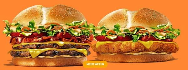 Burger King België Louisiana burgers