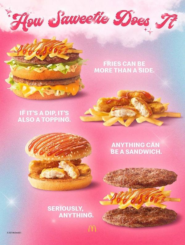 Saweetie McDonald's Remix