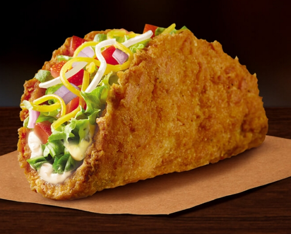 Taco Bell Naked Chicken Taco