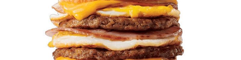 JITB Stacked Croissant Breakfast Sandwich