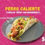 Mexicaanse hotdog bij Taco Mundo