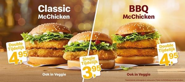 McDonald's McChicken actie
