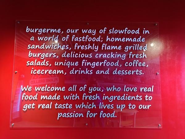Burger Me Restaurant Quote