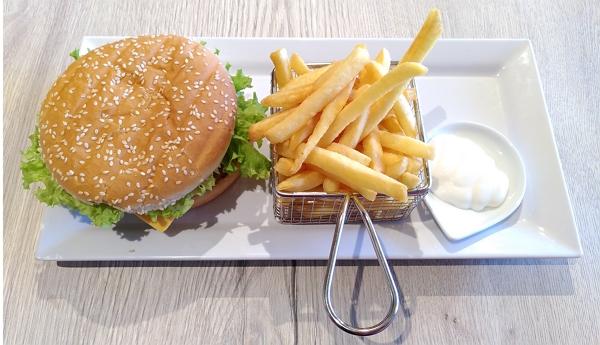 Burger Me Vegetarisch Cheeseburger menu