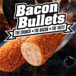 Bacon Bullets: een kroket met bacon