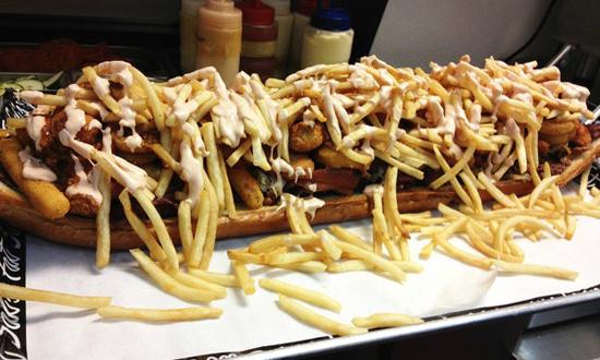 Big Fat Fatty sandwich