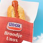 Gratis broodjes Unox op NS Station Utrecht