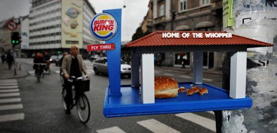 Burger King fly thru