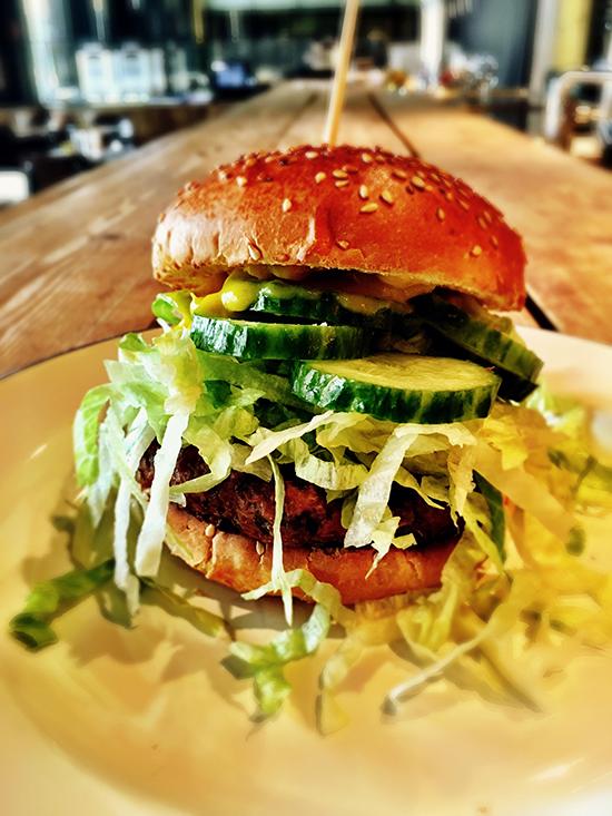 Burgerij Nochey sprinkhaan burger