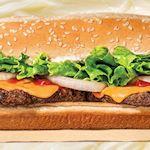 Buttery Cheeseburger Burger King