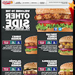 Carl' s Jr. omgekeerde website