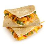 Zomerse Chicken Mango Quesadilla bij Taco Mundo