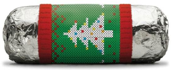 Chipotle kerstactie