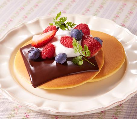 Chocolade plak