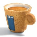Koffiekop om op te eten